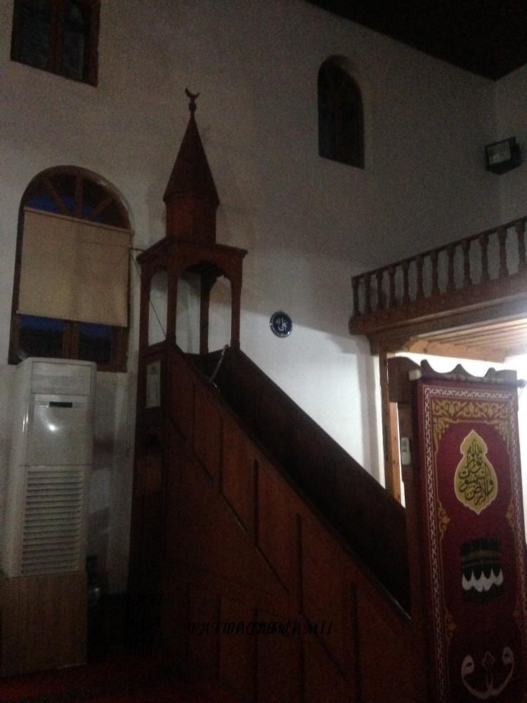 Fatih Camii-Minber